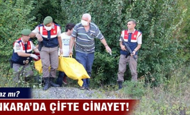 Ankara'da çifte cinayet!