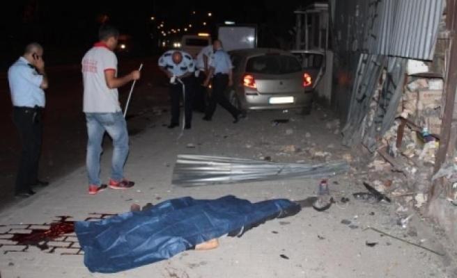 Aracıyla dehşet saçtı: 1 ölü, 3 yaralı