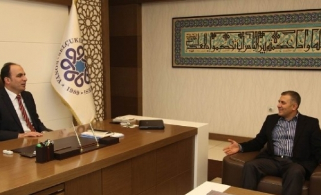 Arat'tan Başkan Altay'a Ziyaret