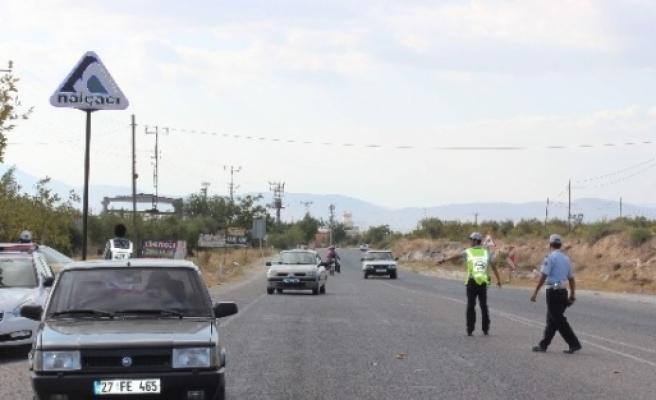 Asayiş Ve Trafik Uygulamaları Sıklaştı