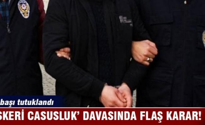 'Askeri Casusluk' davasında binbaşı tutuklandı