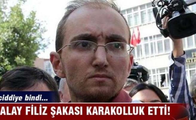 Atalay Filiz şakası karakolluk etti