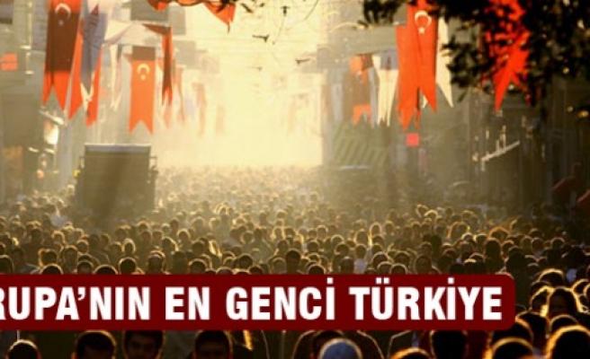 Avrupa'nın en genci Türkiye