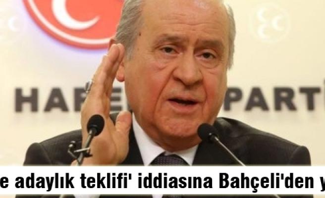 Bahçeli'den Abdullah Gül iddiasına yalanlama