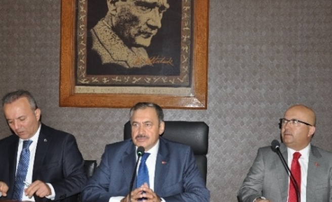 Bakan Eroğlu Afyonkarahisar'da (1)