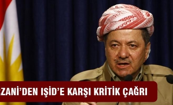 Barzani'den IŞİD'e karşı seferberlik çağrısı