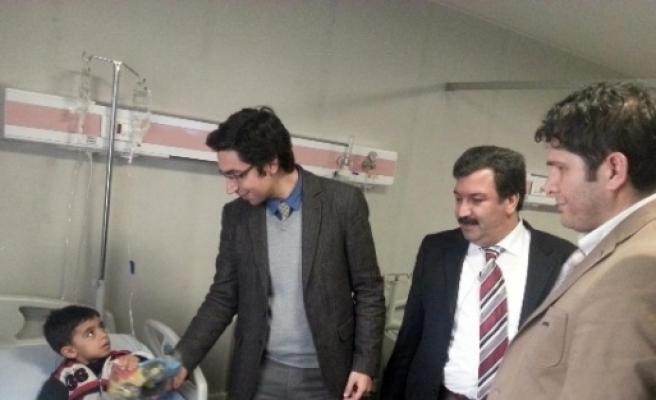 Başhekim Dicle'den Hastalara Ziyaret