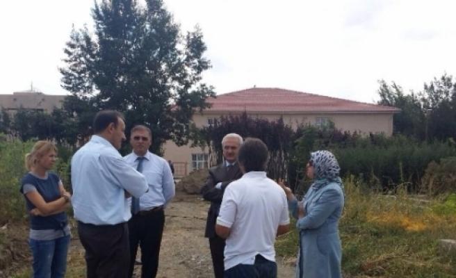 Başkan Başsoy'dan Park Ve Bahçeler Müdürlüğüne Ziyaret