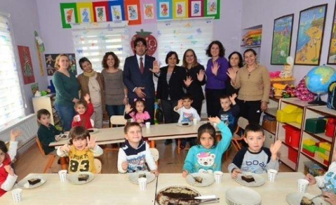 Başkan Demirağ'dan Öğretmenlere Ziyaret