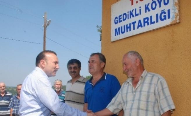 Başkan Doğan, Köylülere Teşekkür Etti