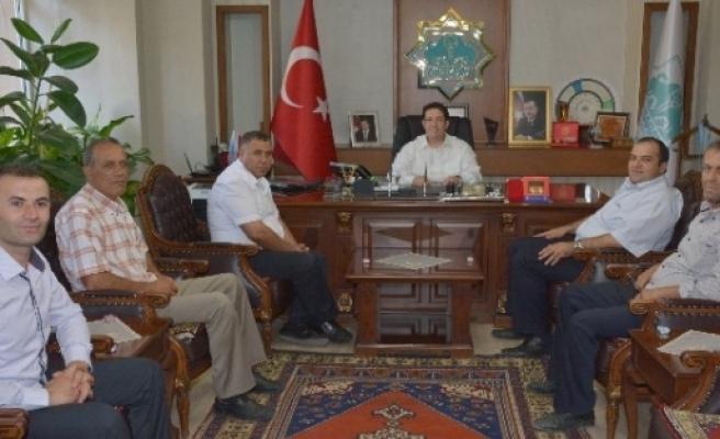 Başkan Fatih Ünsal'dan Yazgı'ya Ziyaret