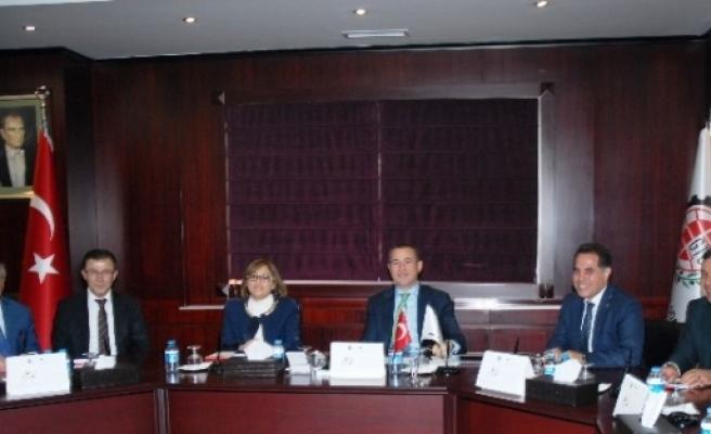 Başkan Fatma Şahin, Gto Yönetimini Bilgilendirdi