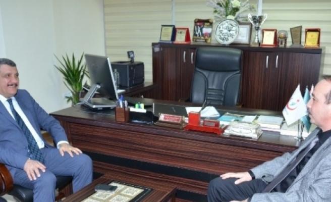 Başkan Gürkan, Boztepe'yi Ve Berk'i Ziyaret Etti