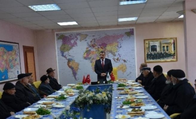 Başkan Gürkan, Yaşlılarla Bir Araya Geldi