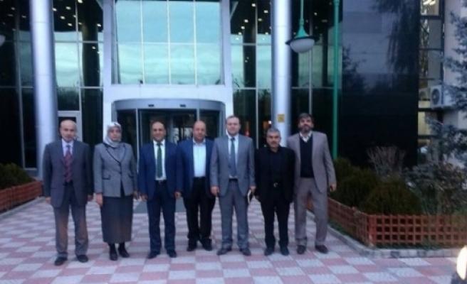 Başkan Özaltun Ve Ak Parti Teşkilatından Başkent Ziyareti