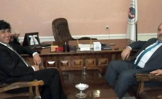 Başkan Sertoğlu, Başkan Belli'yi Ziyaret Etti