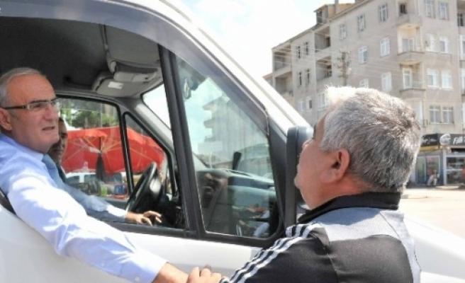 Başkan Yılmaz, Bafra'nın Sorunlarını Masaya Yatırdı