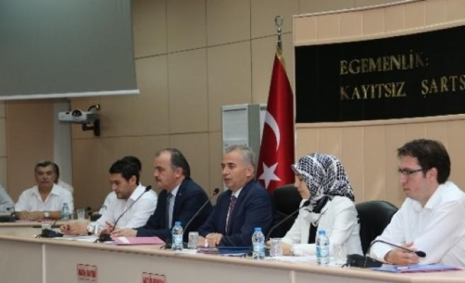 Başkan Zolan, Pamukkale Belediye Meclisi'ni Ziyaret Etti