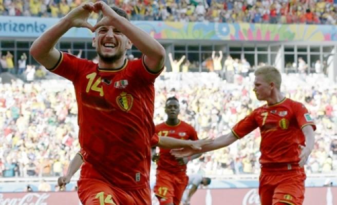 Belçika - Cezayir maç özeti