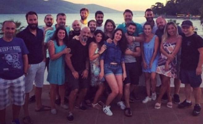 Beyazıt Öztürk'ten ekibine tatil jesti