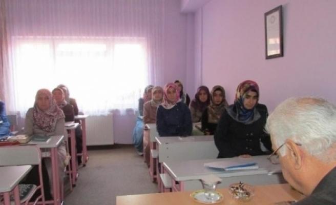 """Bilecik'te """"kur'an-ı Kerim Hizmet İçi Eğitim Kursu"""" Başladı"""