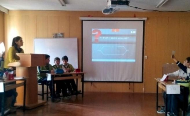 Biraralık Ortaokulun'da Bilgi Yarışması Yapıldı