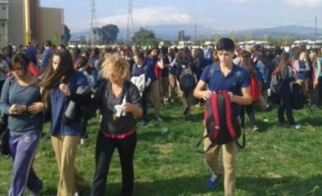 BTSO'da gaz kaçağı öğrencileri zehirledi!