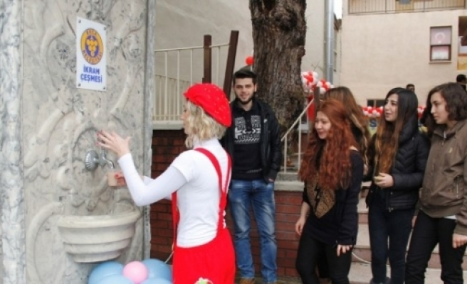 BUCA'DA ÖĞRENCİLERE MORAL EĞLENCESİ