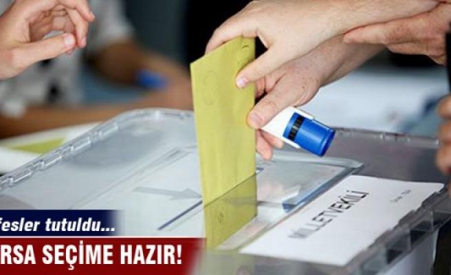 Bursa 1 Kasım seçimlerine hazır