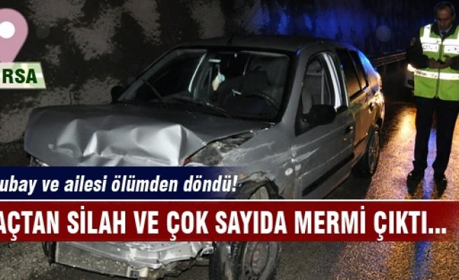 Bursa- Ankara yolunda feci kaza! 3 yaralı