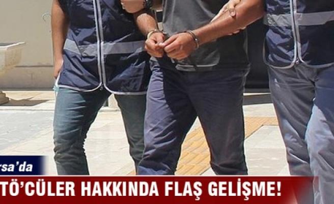Bursa'da 16 kişi FETÖ'de adliyeye sevk edildi
