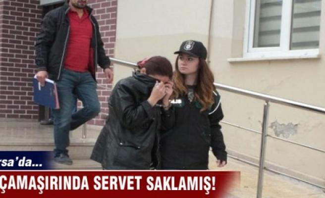 Bursa'da 5000 bin liralık uyuşturucu ele geçirildi