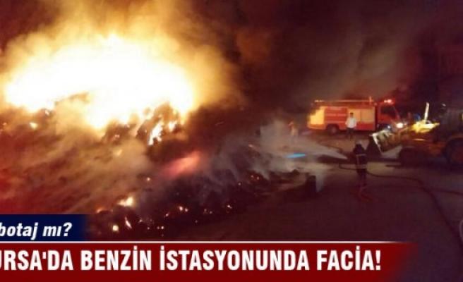 Bursa'da benzin istasyonunda facia!