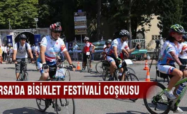 Bursa'da bisiklet festivali coşkusu