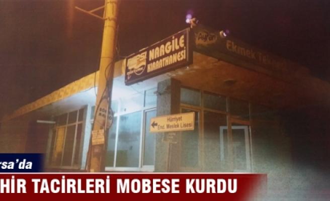 Bursa'da bu sefer zehir tacirleri Mobese kurdu...