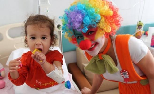 Bursa'da çocukların bayram sevinci
