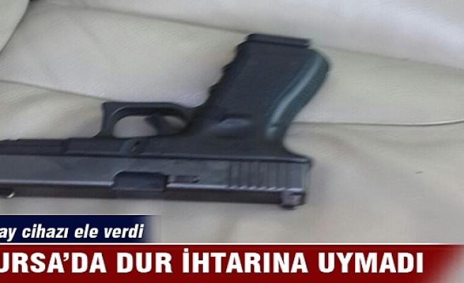 Bursa'da dur ihtarına uymadı araçtan bakın ne çıktı