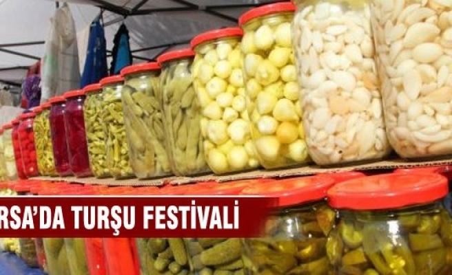 Bursa'da Gedelek Turşu Festivali