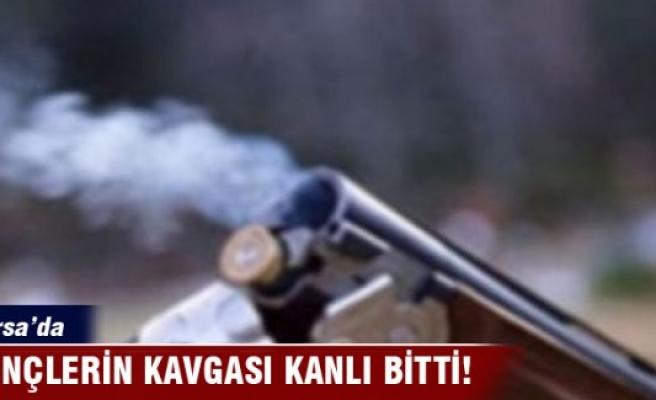 Bursa'da gençlerin kavgası kanlı bitti