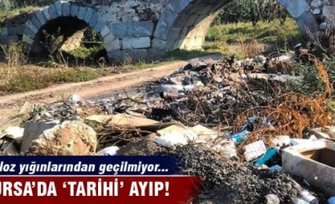 "Bursa'da ""tarihî"" ayıp"