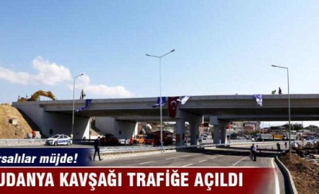 Bursa Mudanya Kavşağı'nda ilk etap trafiğe açıldı