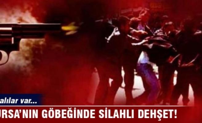Bursa'nın göbeğinde silahlı dehşet!