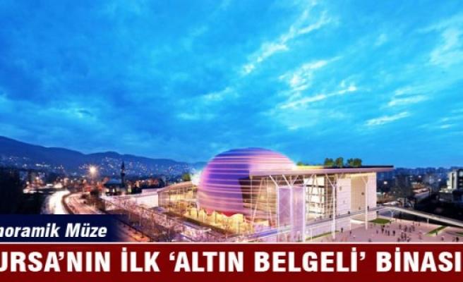 Bursa'nın ilk 'Altın Belgeli' binası