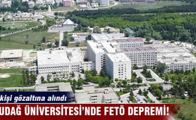 Bursa Uludağ Üniversitesi'nde görevli 12 akedemisyen ve memur gözaltına alındı