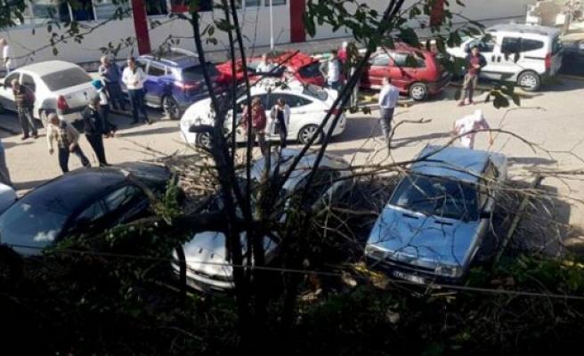 Bursa'yı lodos vurdu