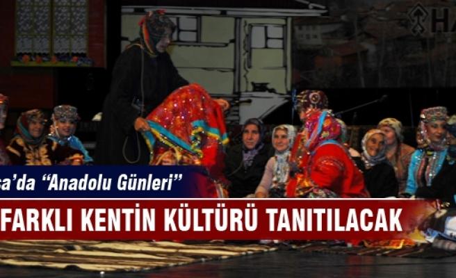 Bursa'da diğer kentlerin kültürleri tanıtılacak