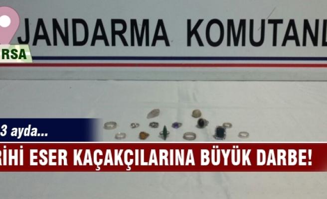 Bursa'da tarihi eser kaçakçılarına büyük darbe!