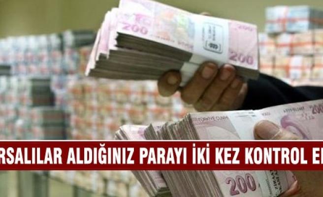 Bursalılar alışveriş yaparken aldığınız parayı iki kez kontrol edin