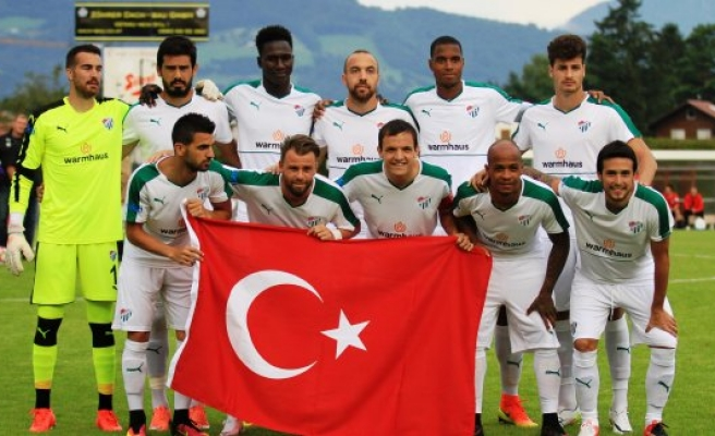 Bursaspor'da Adanaspor'a karşı 3 eksik