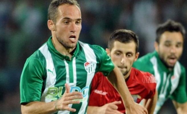 Bursaspor'a bir şok daha!